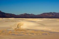 νέο λευκό άμμων του Μεξικού Στοκ Φωτογραφία