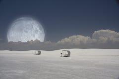 νέο λευκό άμμων του Μεξικ&omic Στοκ Εικόνα