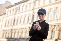 Νέο μήνυμα γυναικών στην οδό Στοκ Εικόνα
