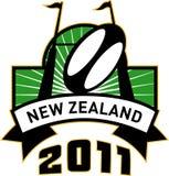 νέο μετα ράγκμπι Ζηλανδία σ& απεικόνιση αποθεμάτων