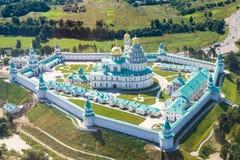 Νέο μοναστήρι της Ιερουσαλήμ στη Μόσχα Oblast Στοκ Εικόνες