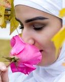 Νέο μουσουλμανικό κορίτσι Στοκ Εικόνες