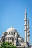 Νέο μουσουλμανικό τέμενος (camii Yeni) στη Ιστανμπούλ, Τουρκία στοκ εικόνες
