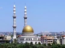 Νέο μουσουλμανικό τέμενος Jaljulia Στοκ Φωτογραφία