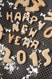 Νέο μπισκότο έτους 2015 Στοκ εικόνες με δικαίωμα ελεύθερης χρήσης