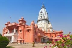 Νέο ναός ή Birla Mandir, ινδό πανεπιστήμιο, Varanasi, Benares, Ινδία Vishwanath στοκ εικόνες