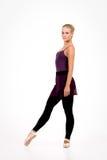 Νέο ξανθό ballerina Στοκ φωτογραφία με δικαίωμα ελεύθερης χρήσης