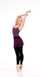 Νέο ξανθό ballerina Στοκ εικόνες με δικαίωμα ελεύθερης χρήσης