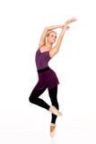 Νέο ξανθό ballerina Στοκ Εικόνες