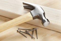 Νέο ξύλινο σφυρί Στοκ Εικόνες