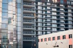 Νέο οικονομικό κέντρο Στοκ Εικόνες