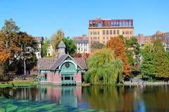 νέο πάρκο Υόρκη κεντρικών πόλεων φθινοπώρου στοκ φωτογραφία με δικαίωμα ελεύθερης χρήσης