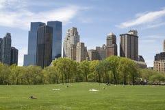νέο πάρκο Υόρκη της Νέας Υόρκης κεντρικών πόλεων στοκ εικόνες με δικαίωμα ελεύθερης χρήσης