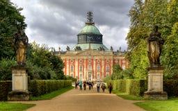 Νέο παλάτι (Neues Palais) στο Πότσνταμ Στοκ φωτογραφίες με δικαίωμα ελεύθερης χρήσης