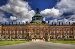 Νέο παλάτι (Neues Palais) στο Πότσνταμ Στοκ φωτογραφία με δικαίωμα ελεύθερης χρήσης