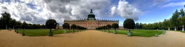 Νέο παλάτι (Neues Palais) στο Πότσνταμ Στοκ Φωτογραφίες
