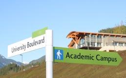 νέο πανεπιστήμιο στοκ εικόνα