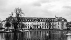 νέο παλάτι Στουτγάρδη Στοκ Εικόνα