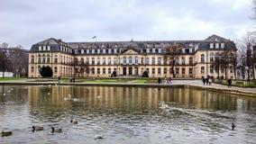 νέο παλάτι Στουτγάρδη Στοκ Φωτογραφίες