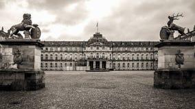 νέο παλάτι Στουτγάρδη Στοκ φωτογραφίες με δικαίωμα ελεύθερης χρήσης