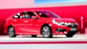 Νέο ΠΟΛΙΤΙΚΟ ΚΟΚΚΙΝΟ της Honda στη διεθνή μηχανή EXPO 2017 της Ταϊλάνδης απόθεμα βίντεο