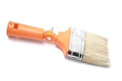 Νέο πορτοκαλί διευθετήσιμο πινέλο γωνίας χρώματος Στοκ εικόνα με δικαίωμα ελεύθερης χρήσης