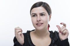 Νέο πορτρέτο γυναικών Στοκ εικόνες με δικαίωμα ελεύθερης χρήσης
