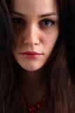 Νέο πορτρέτο brunette Στοκ φωτογραφίες με δικαίωμα ελεύθερης χρήσης