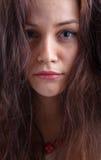 Νέο πορτρέτο brunette Στοκ εικόνες με δικαίωμα ελεύθερης χρήσης