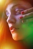 Νέο πορτρέτο brunette Στοκ Εικόνες