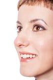 Νέο πρόσωπο γυναικών στοκ φωτογραφία με δικαίωμα ελεύθερης χρήσης