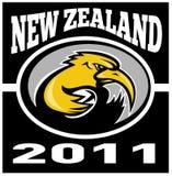 νέο ράγκμπι Ζηλανδία ακτινί&del απεικόνιση αποθεμάτων