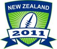 νέο ράγκμπι Ζηλανδία σφαιρώ&nu απεικόνιση αποθεμάτων