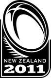 νέο ράγκμπι Ζηλανδία φτερών &sig ελεύθερη απεικόνιση δικαιώματος