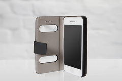 Νέο ρεαλιστικό κινητό ύφος τηλεφωνικού smartphone iphon Στοκ Εικόνα