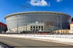Νέο στάδιο για το παγκόσμιο πρωτάθλημα του 2018 Στοκ Φωτογραφία