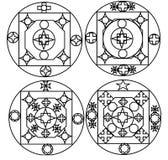 Νέο σχέδιο στιλίστων τέσσερα για την εργασία μετάλλων Στοκ Φωτογραφία