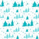 Νέο σχέδιο των χριστουγεννιάτικων δέντρων Στοκ φωτογραφίες με δικαίωμα ελεύθερης χρήσης