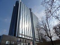 Νέο σύγχρονο κτήριο στο κέντρο της krasnodar πόλης στοκ εικόνα
