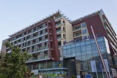 Νέο σύγχρονο ξενοδοχείο Adria σε Budva στοκ φωτογραφία με δικαίωμα ελεύθερης χρήσης
