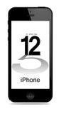 Νέο σύγχρονο iPhone 5 απεικόνιση αποθεμάτων
