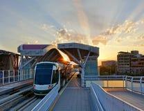 Νέο σύστημα μετρό στην Ταϊβάν Στοκ Φωτογραφία