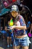 νέο ταϊλανδικό έτος φεστι&beta Στοκ εικόνες με δικαίωμα ελεύθερης χρήσης