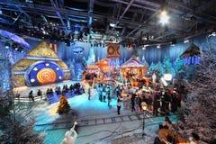 νέο του χωριού έτος gluharevo μαγν& Στοκ Εικόνες
