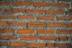 Νέο τούβλινο υπόβαθρο σύστασης σχεδίων τοίχων Στοκ Εικόνα