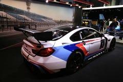 Νέο το 2018 BMW M6 GT3 στην επίδειξη βορειοαμερικανικό διεθνή στον αυτόματο παρουσιάζει Στοκ Εικόνες