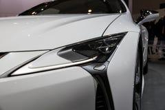 Νέο υβριδικό αυτοκίνητο Lexus LC500h Στοκ Εικόνες