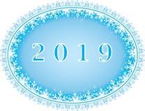 Νέο υπόβαθρο έτους 2019 Στοκ Φωτογραφίες