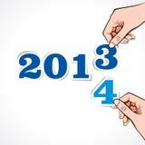 Νέο υπόβαθρο έτους στοκ εικόνα με δικαίωμα ελεύθερης χρήσης
