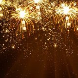 Νέο υπόβαθρο εορτασμού έτους Στοκ φωτογραφία με δικαίωμα ελεύθερης χρήσης